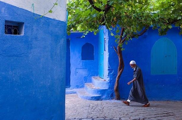 Dünyanın mavi şehri