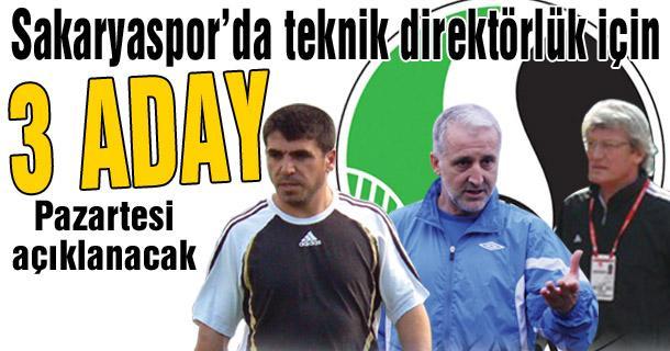 Sakaryaspor'da Adem Tandoğan ağır basıyor