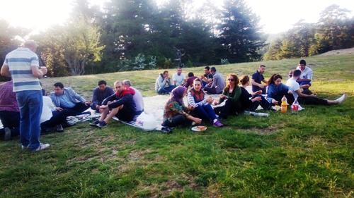 Taraklı Termal A.Ş çalışanları piknikte