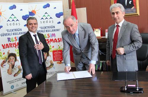 SEDAŞ- SEPAŞ imzaları attı