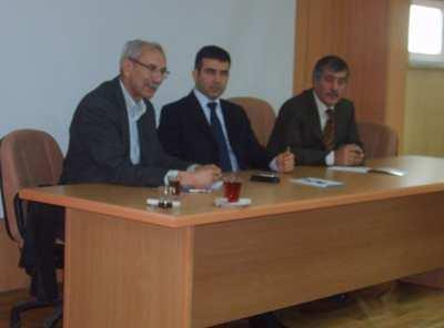 Taraklı'da muhtarlarla SEDAŞ toplantısı