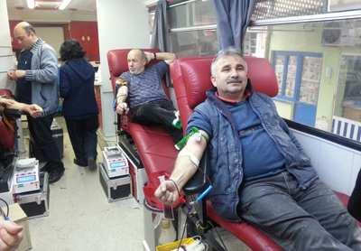 Atatürk Sanayi'den kan bağışı