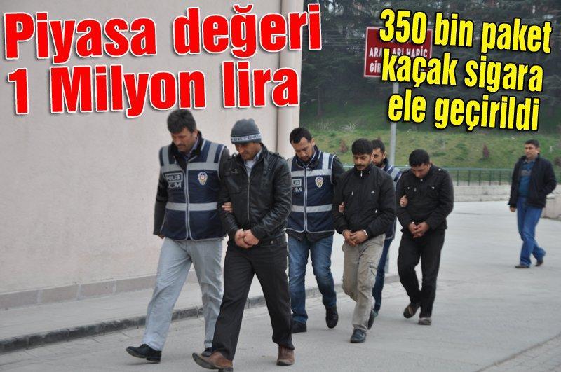 3 şahıs yakalanarak gözaltına alındı