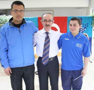 Türk Telekom'un başarılı sporcuları ödüllendirdi