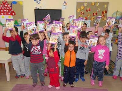 Eser İlkokulu'nda okuma aşkı