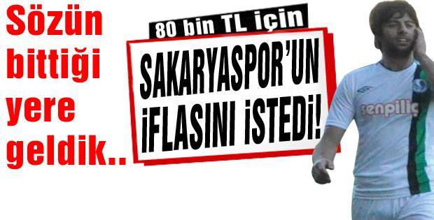 (ŞOK) Sakaryaspor'un iflası istendi!