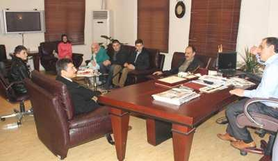 Öğrencilerden Başkan Yazıcı'ya ziyaret