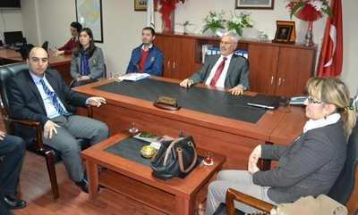 STK temsilcileri Başkan Ak'ı ziyaret etti
