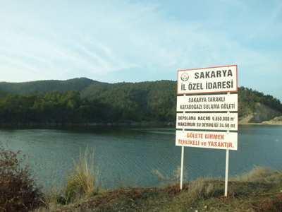 Kayaboğazı göleti 2014 yılında tamamlanacak