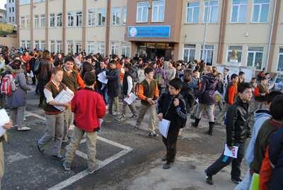 Kaynarcalı öğrenciler okul sütü içemedi