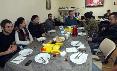 Tokatlılar, SAÜ'lü öğrencilerle buluştu