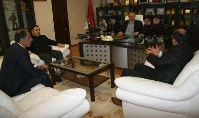 Erzurumlular'dan Başkan Dişli'ye davet