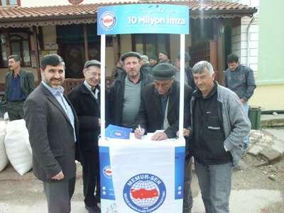 Taraklı'da kılık kıyafet özgürlüğüne destek kampanyası
