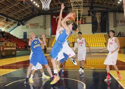 Uluslararası U16 Basketbol Turnuvası başladı