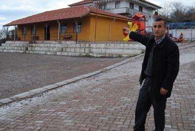 Kulaklı Köyü ilkokulu yenilendi
