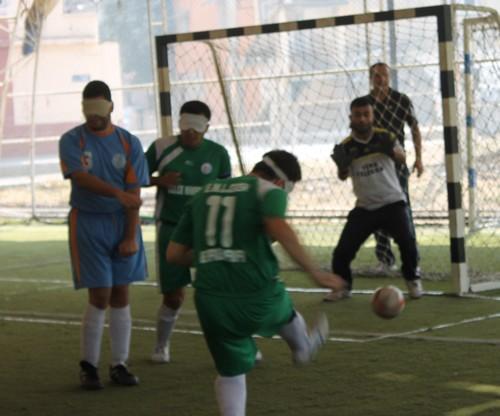 Görme Engelliler Futbol Müsabakası