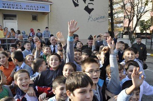 Yücel Ballık'a spor salonu