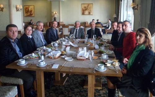 Müteahhitler Birliği, Başkan Öztürk'le buluştu