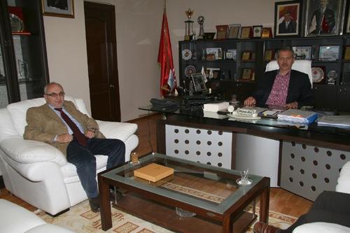 Uzun'dan Başkan Dişli'ye ziyaret