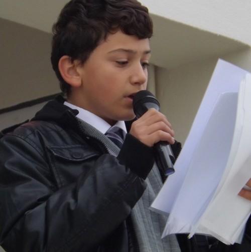 Aykut Yiğit'te Okul Başkanı Seçimi