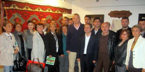 CHP'DEN YEREL KÜLTÜR DERNEĞİ'NE ZİYARET