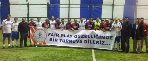 SAGİAD Futbol Turnuvası hızlı başladı