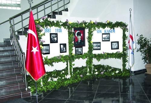 TÜVASAŞ'ta Atatürk köşesi