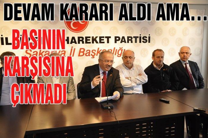 Erdoğan partiye gelmedi