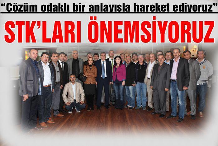Başkan Toçoğlu, YKD üyeleri ile buluştu
