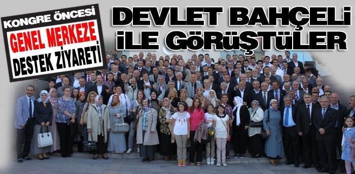 MHP'liler Ankara'ya aktı