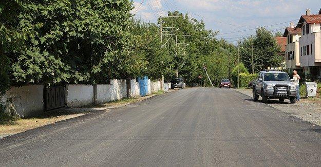 Arslanlar Caddesi'ne asfalt