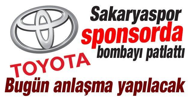 Sakaryaspor'a dev sponsor!