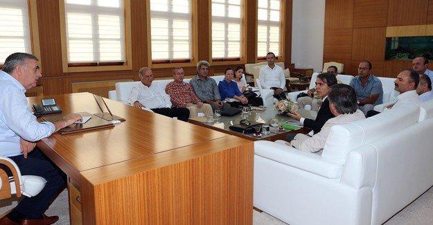 Gıda, Tarım Ve Hayvancılık Bakanlığı Yetkililerinden Başkan Toçoğlu'na ziyaret