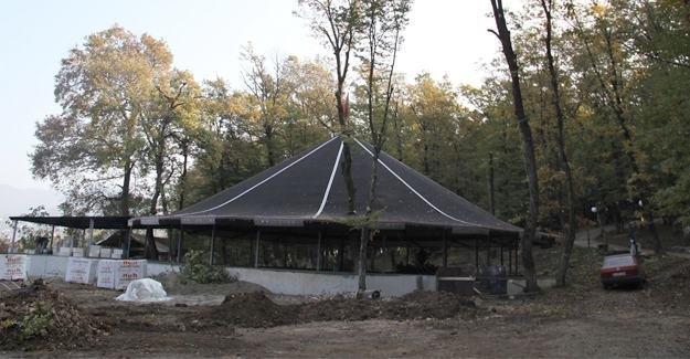 Akyazı Tabiat ve Orman Parkında çalışmalar tamamlanıyor