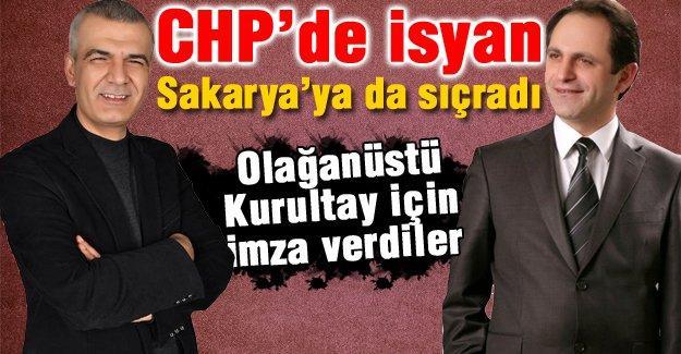 CHP'de isyan Sakarya'ya da sıçradı
