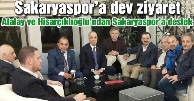Sakaryaspor'a dev ziyaret