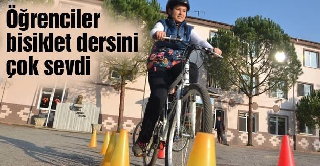 Bisiklet kültürü derslerle yaygınlaşacak