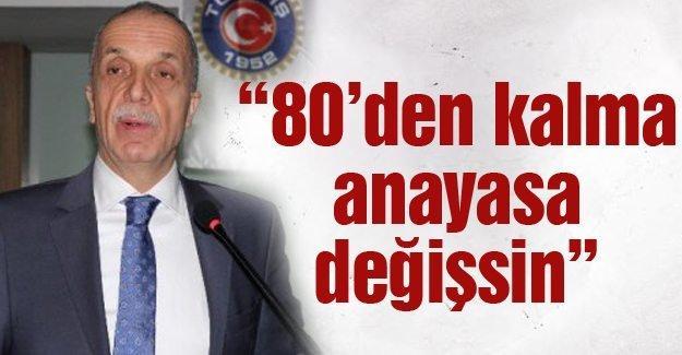 Türk-İş 22. Olağan Genel Kurulu yapıldı