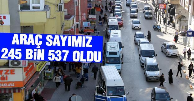 TÜİK motorlu taşıt sayısını açıklandı