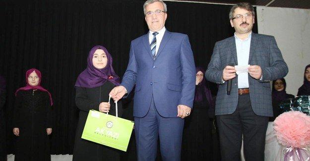 Akyazı'da Kur'ın-ı Kerim Okuma yarışması yapıldı