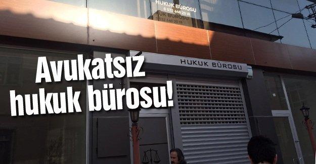 Baro Başkanı Kazan'dan hukuk bürosuna baskın