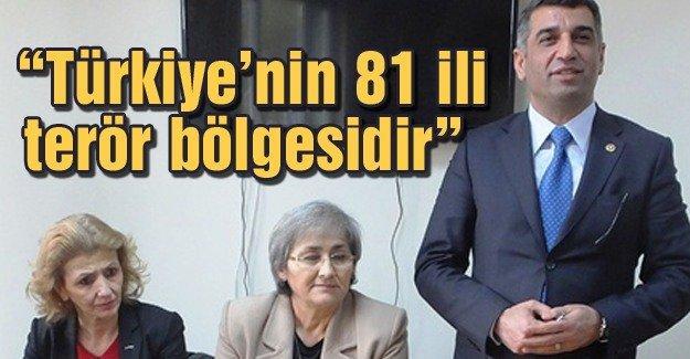 CHP Tunceli Milletvekili Gürsel Erol terör olaylarını değerlendirdi