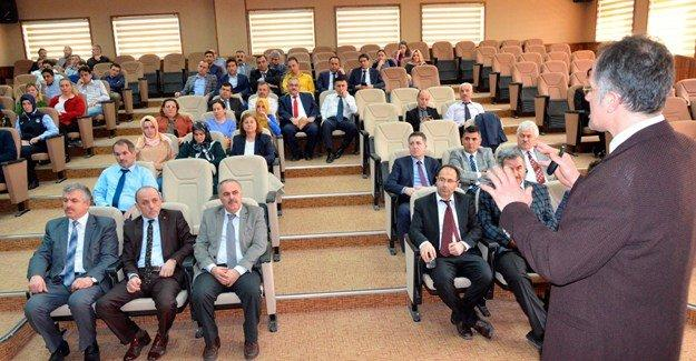 Erenler'de hizmet içi eğitim semineri