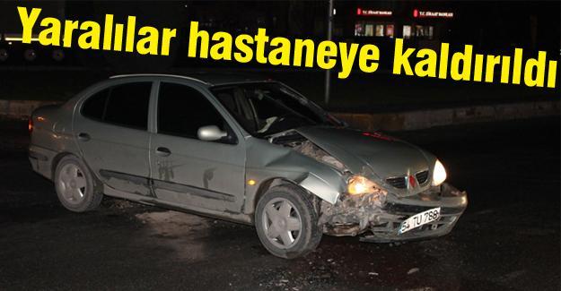 Erenlerde kaza: 2 yaralı