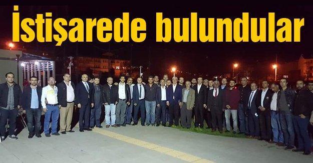 AK Partililer Maltepe Mahallesinde bir araya geldi