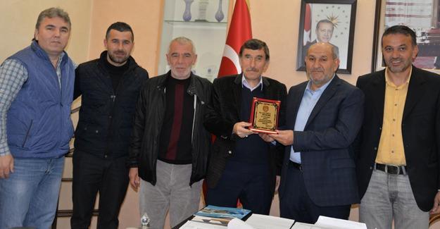 Boğazspor'dan Başkan Püsküllü'ye ziyaret
