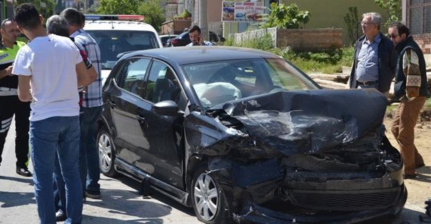 Bu kez kaza değil emniyet kemeri yaraladı