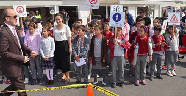 Erenler Trafik Park'ta Trafik Haftası kutlandı