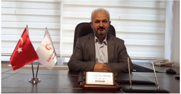 İYC Başkanı Aktaş Miraç Kandilini kutladı