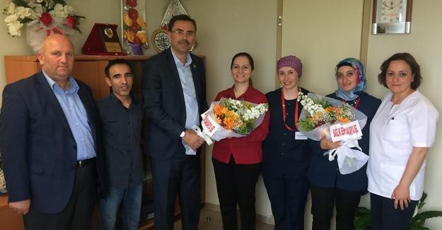 Sağlık Sen Hemşireler Gününü kutladı